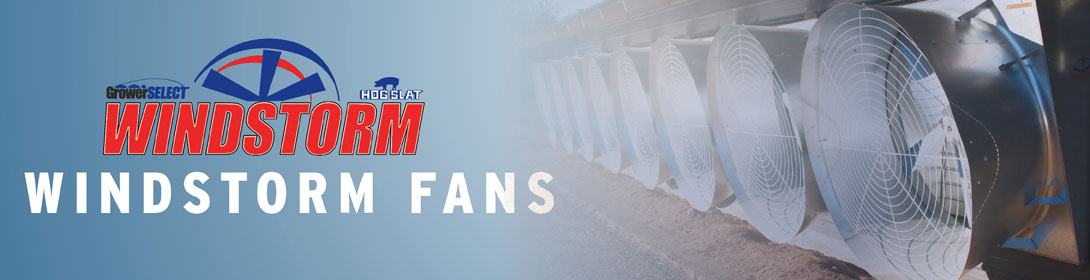 WindStorm Galvanized Metal Fans