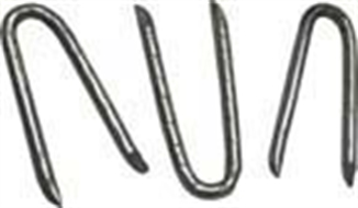 """Picture of 3/4"""" Bird Wire Staples"""