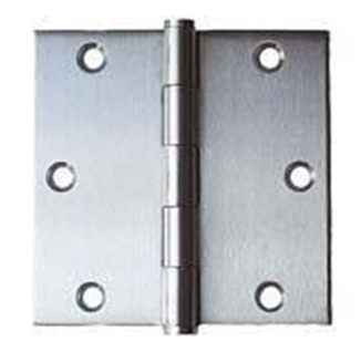 "Picture of 3"" x 3"" Stainless Steel Hinge"