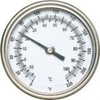 "Picture of 36"" Probe Thermometer With Dial"