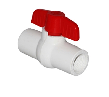 """Picture of Rusco™ 1/2"""" Threaded ball valve"""