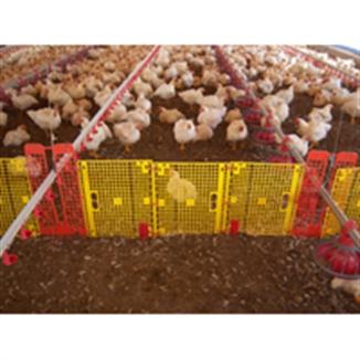 Migration Fence Hog Slat