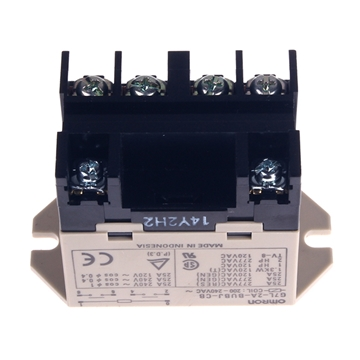 Picture of Relay DPST 6 Terminal 25 Amp 120/240V