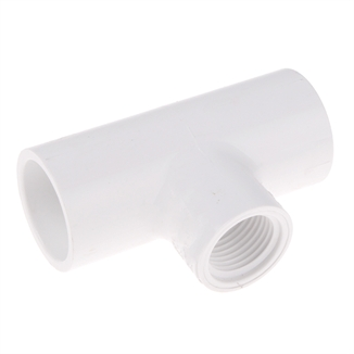 """Picture of 3/4"""" REDUCING TEE PVC SCH 40"""