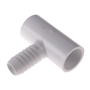 "Picture of 3/4"" BARB TEE PVC SCH 40"