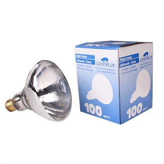Picture of Hog Slat® Dimpled Face Heat Lamp Bulb 100W