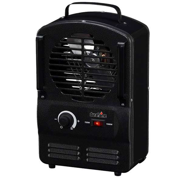 duraflame 3t electric utility heater hog slat. Black Bedroom Furniture Sets. Home Design Ideas