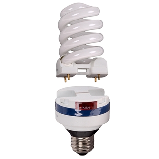 Picture of Lifelamp 19w CFL Bulb & Ballast Combo Dimmable
