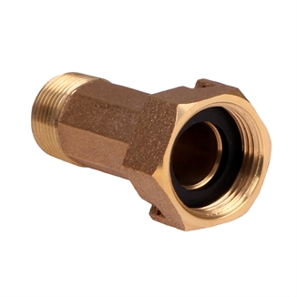 "Picture of 3/4"" Water Meter Fitting - Bronze"