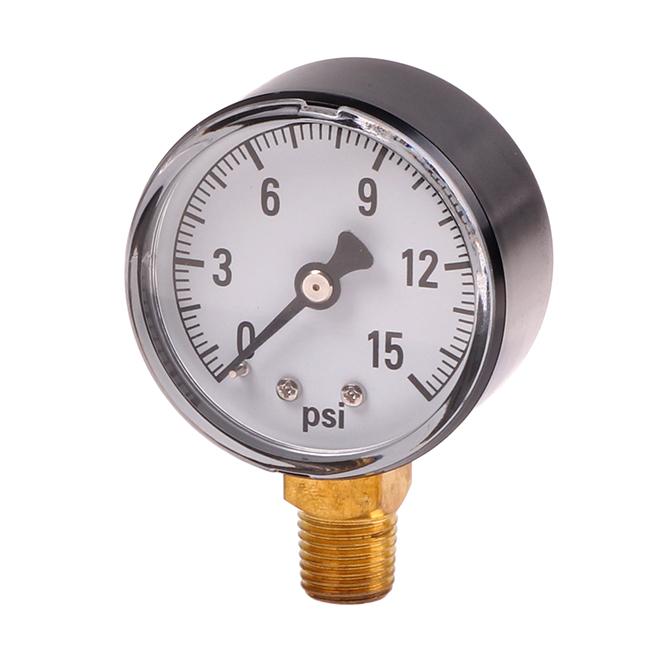 Water Pressure Gauge 0 15 Psi Hog Slat