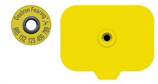 Picture of Combo HogMax® Blank Stud With RFID Ear Tag