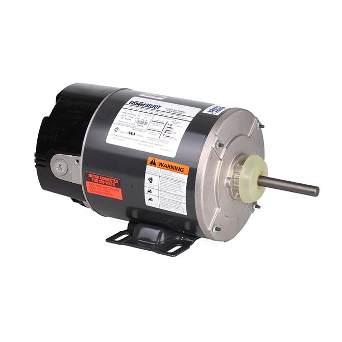 Grower select 1 3 hp variable speed fan motor hog slat for 2 hp variable speed motor