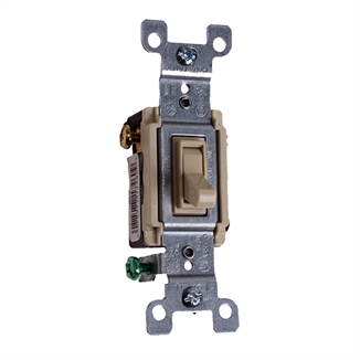 Picture of 3-Way Light Switch 15A 120V