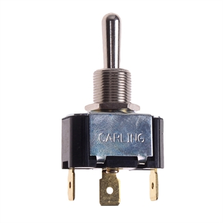 Picture of Toggle Switch SPDT 10 Amp 250V 3/4 HP
