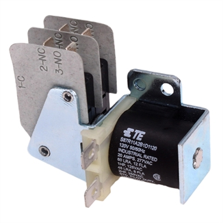 Picture of Relay DPDT 20 Amp 120V