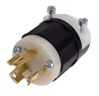 Picture of Twist Lock Plug 2 Pole 15A 220V NEMA L6-15P