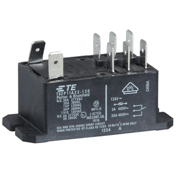 Picture of Relay DPDT 30A 120V General Purpose