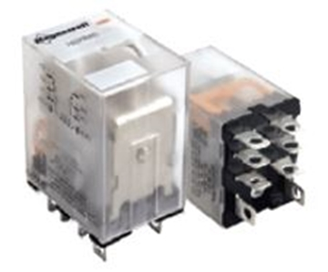 Picture of Plug-In Relay DPDT 3 Wire 120/240VAC