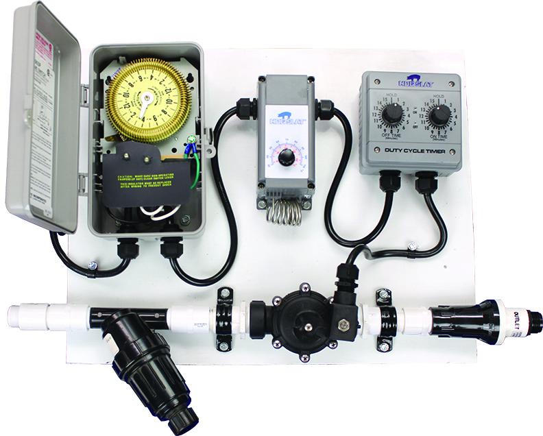 Drip System Control With 24 Hr Timer Hog Slat