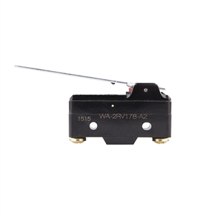 Picture of Micro Switch 20 Amp 250VAC Straight Lever
