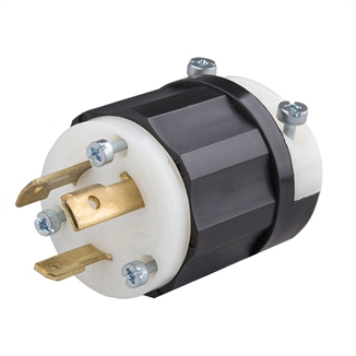 Picture of Twist Lock Plug Male 30A 250V Phase 1