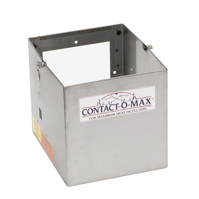 Contact o max jr stainless steel battery box hog slat