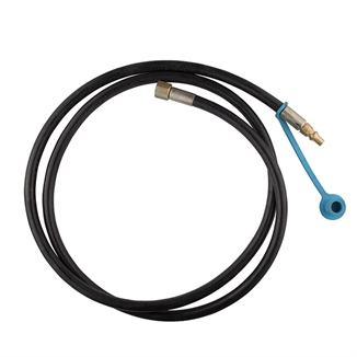 "Picture of LB White® Male Quick Connect Gas Hose 1/4"" x 6'"