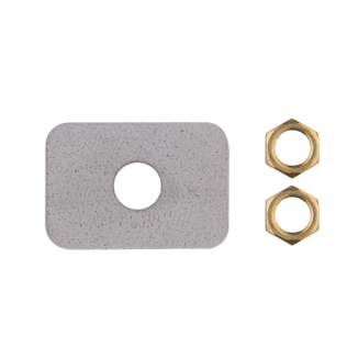 Picture of LB White® Thermocouple Cover Plate & Nuts