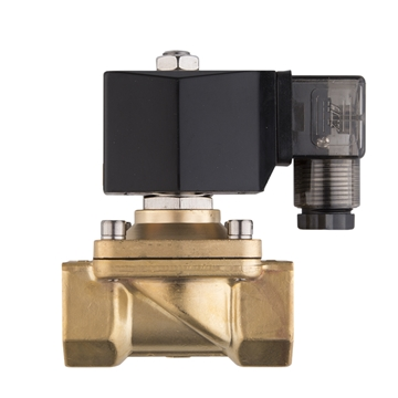 "Picture of 3/4"" FNPT Brass Solenoid Valve 24V NC"