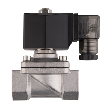 "Picture of 3/4"" FNPT Stainless Solenoid Valve 24V NC"