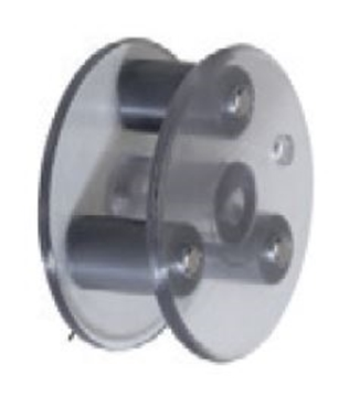 Picture of Stennicator Black Roller Assembly