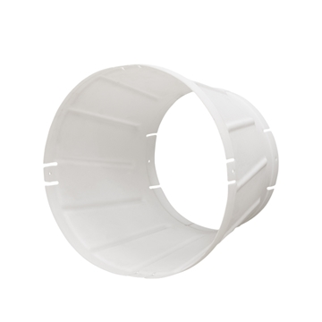 "Picture of 16"" Plastic Fan Discharge Cone w/o Guard"