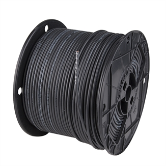 Picture of 12 GA THHN Black Stranded Wire - 500' Roll