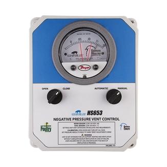 Picture of Hog Slat® Negative Pressure Vent Controller