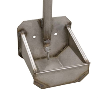 Picture of Hog Slat® Single Welded Water Cup w/ Pipe