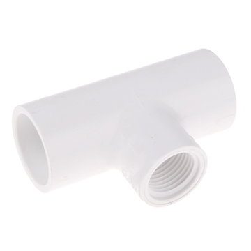"Picture of 2"" REDUCING TEE PVC SCH 40"