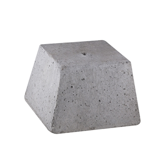 Picture of Curtain Counter Weight 25 Lbs - Concrete