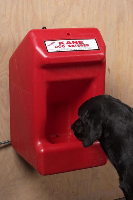 Kane Heated Dog Waterer Hog Slat