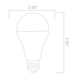 Picture of 12W 5000k LED A21 Greenlite™ Bulb