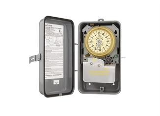 Picture of Intermatic® 24 HR 7 Day Timer Switch, 120V Metal Case