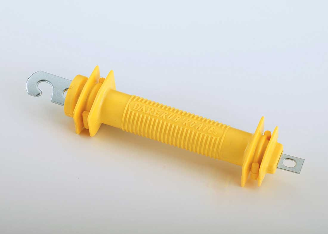 Rubber Gate Handle For Electric Fence Yellow Hog Slat