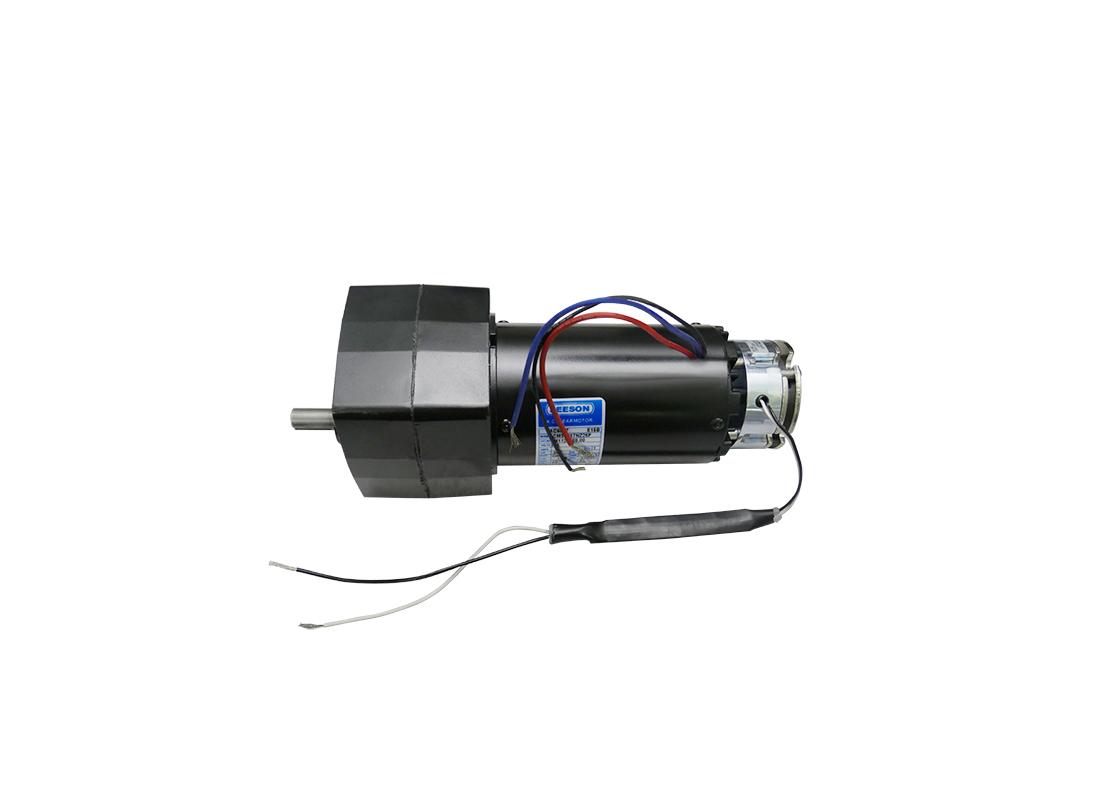 leeson 3 7 rpm 120v gear motor hog slat