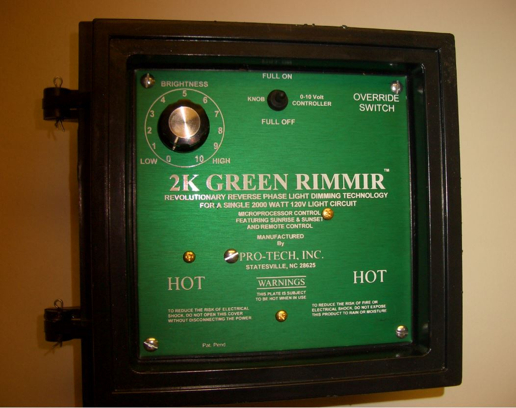 Pro Tech 2k Green Dimmer Hog Slat