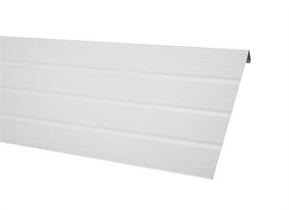 Picture of White Vinyl Fascia Trim - 18' Per Piece