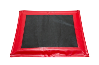 "Picture of Red Disinfectant Mat - 32"" x 24"" x 1-1/2"""