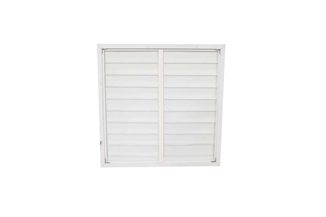 "Picture of 39"" PVC Fan Shutter"