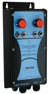 Picture of Rotem® RLD-6 Plus Analog Dimmer w/ Card