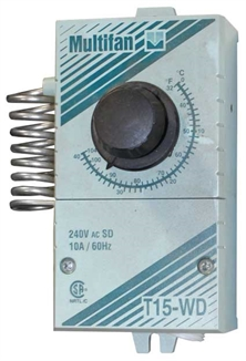 Picture of Multifan® T15-WD Thermostat - 240V