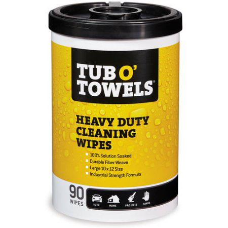 Tub O Towels Heavy Duty Wipes Hog Slat