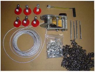 Picture of Hog Slat® Load Chute Winch Kit - Manual